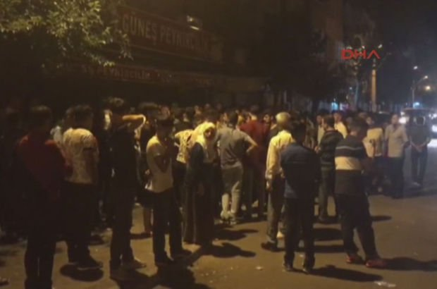 Diyarbakır'da gerginlik! Mahalleli sokağa döküldü!