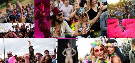 """İngiltere'de düzenlenen en büyük açık hava festivali: """"Glastonbury!"""""""
