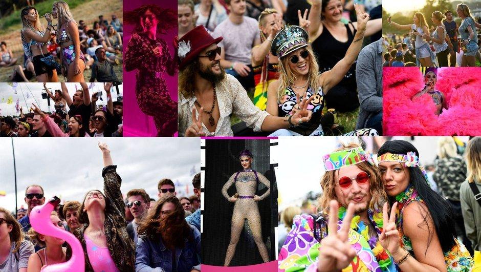 """""""En renkli festival"""": Glastonbury!"""