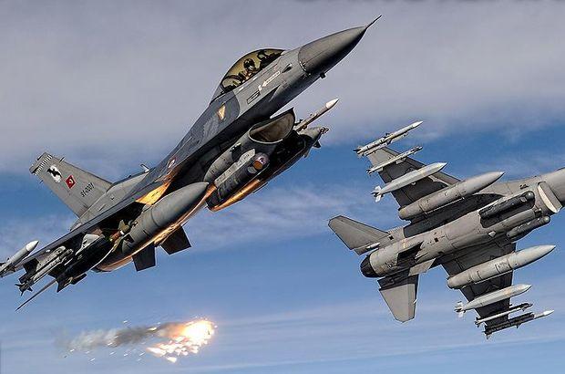 Saldırı hazırlığındaki PKK'lı teröristlere hava harekatı