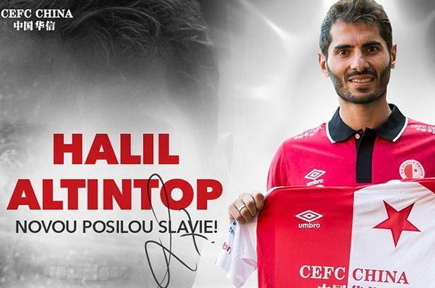 Halil Altıntop'un yeni takımı Slavia Prag oldu!