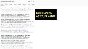 Google için en ağır arama sonucu: Tam 2.4 milyar Euro!