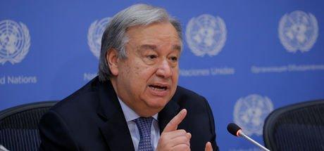 BM Genel Sekreteri Guterres'ten Kıbrıs çağrısı