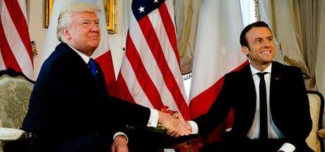 Macron ve Trump, ortak hareket etmeyi kararlaştırdı