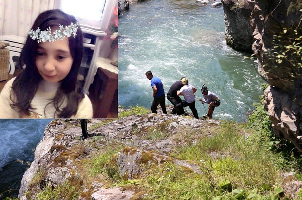 Rize'de dereye düşerek kaybolan Nehir Zenginal'ı arıyorlar