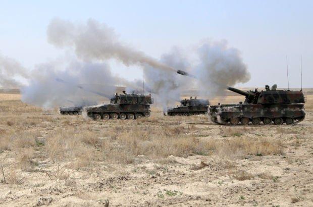 TSK'dan Afrin'de terör örgütü PYD'ye bombardıman