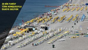 20 bin turist tatil için gurbetçilerle Türkiye'ye gelecek