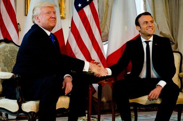 Emmanuel Macron ve Donald Trump, ortak hareket etmeyi kararlaştırdı