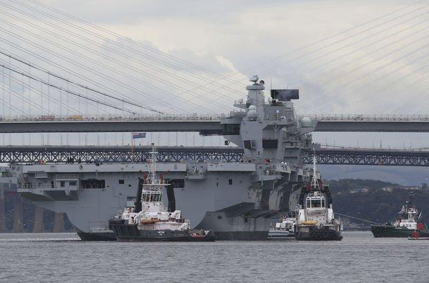 HMS Queen Elizabeth İngiltere donanması