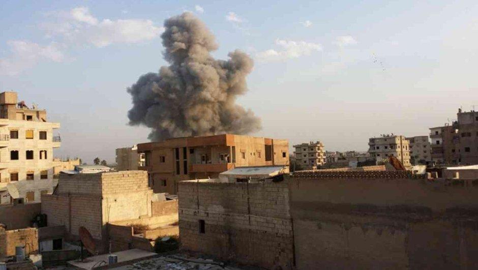 Doğu Suriye'de patlama! 50 sivil öldü!