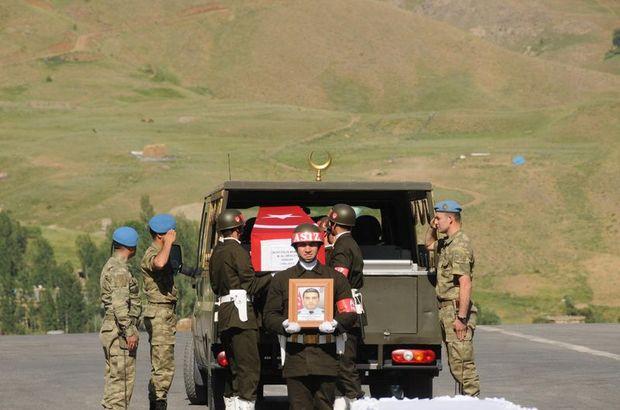 Hakkari'de PKK'ya yönelik operasyonda 1 polis şehit oldu