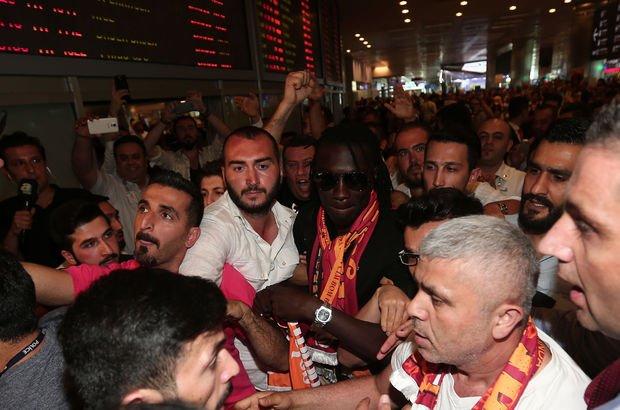 Galatasaray'ın yeni golcüsü İstanbul'da