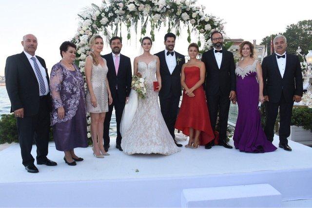 Burak Özçivit - Fahriye Evcen evlendi! Burak Özçivit - Fahriye Evcen düğünü!