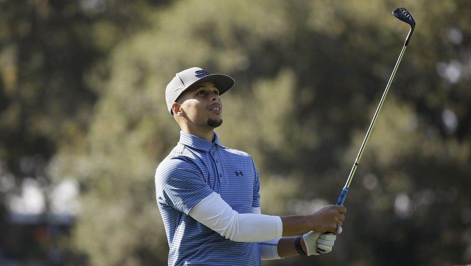 Curry golf oynayacak!