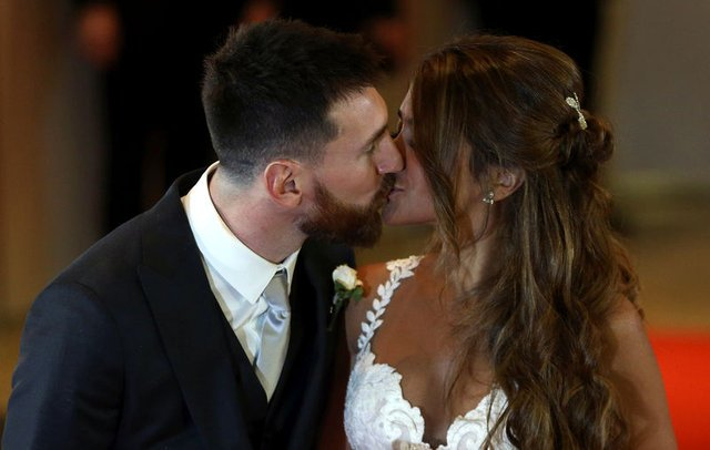 Lionel Messi ve Antonella Roccuzzo düğünü