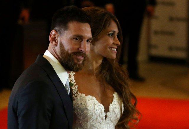 Lionel Messi - Antonella Roccuzzo evlendi! İşte Lionel Messi'nin düğünü!