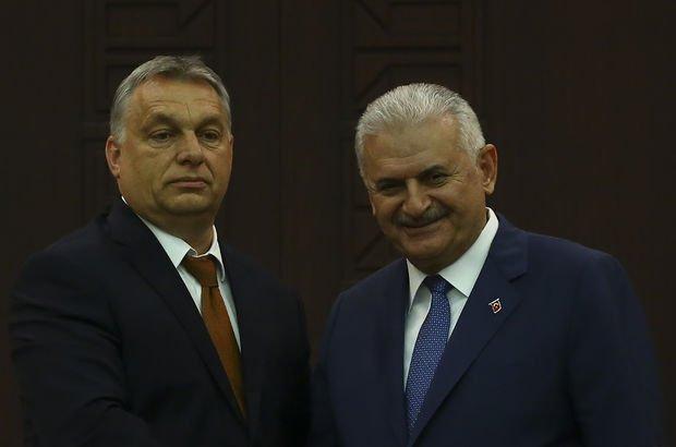 Binali Yıldırım ve Macaristan Başbakanı Victor Orban'dan ortak basın toplantısı