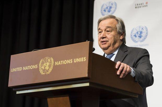 BM Genel Sekreteri'nden Kıbrıs açıklaması: Çözüm çok zor