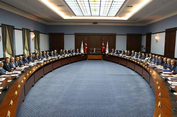 AK Parti Merkez Karar ve Yönetim Kurulu toplantısı bitti