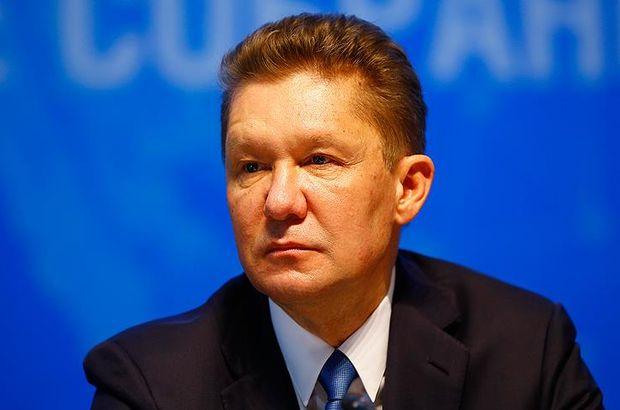 Gazprom İcra Komitesi Başkanı Miller: Türk Akımı'na hissedar alabiliriz