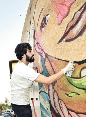 Bu festival duvarları sanat eserine dönüştürüyor!