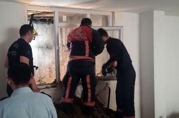 Son Dakika - Esenyurt'taki binada göçük: 1 ölü