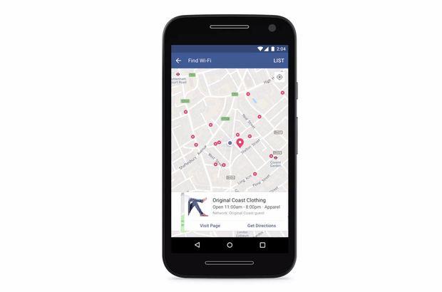 Facebook ücretsiz Wi-Fi özelliğini devreye aldı