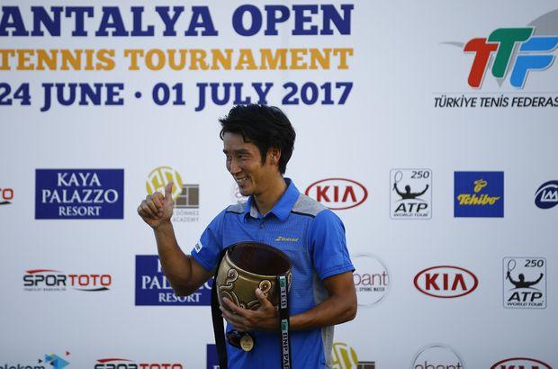 ATP World Tour 250 Antalya'da şampiyon Yuichi Sugita