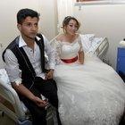 Gelin ve damat dahil 143 kişi hastaneye kaldırıldı