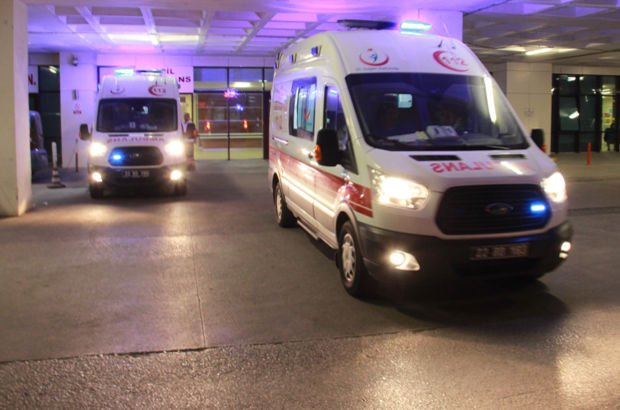 Edirne'de 10 asker hastaneye kaldırıldı