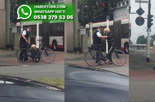 Almanya'daki Türk otobüs şoföründen mesai saatlerinde insanlık dersi