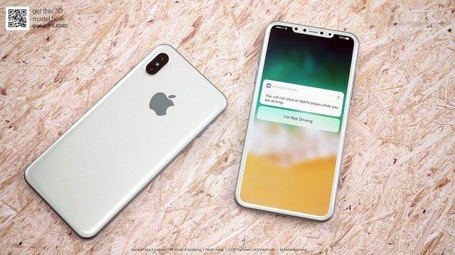 iPhone 8'de beyaz renkli model olacak mı?