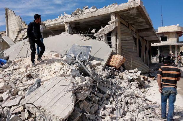İdlib Suriye saldırı