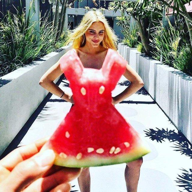 Sosyal medyada yeni çılgınlık watermelon dress nedir?