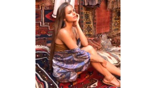 Viki Odintcova Kapadokya'da