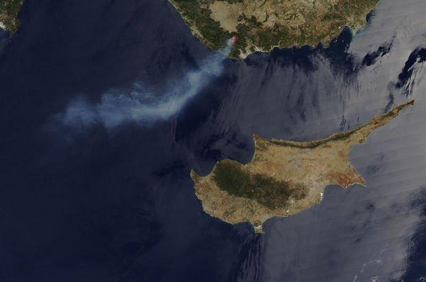 NASA görüntüledi! Kıbrıs'la neredeyse aynı büyüklükte...
