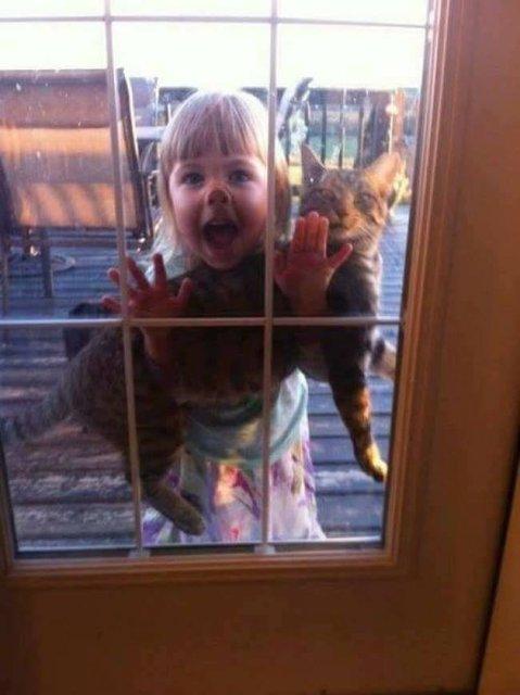 Çocukları yalnız bırakınca bakın ne oluyor