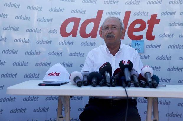 Kılıçdaroğlu: Bana soruyorlar, 'Adalet sokakta aranır mı?' diye...