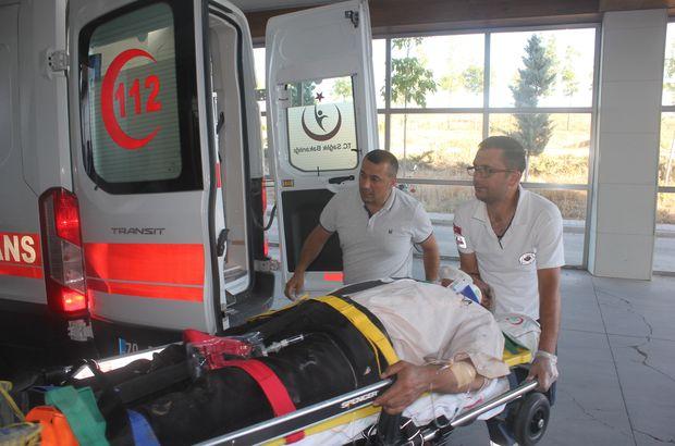İşçileri taşıyan minibüs devrildi: 17 yaralı