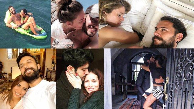 Ünlü çiftlerin aşk dolu paylaşımları