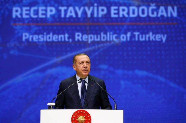 Binali Yıldırım, Recep Tayyip Erdoğan, dünya petrol kongresi 2017,İstanbul Kongre Merkezi
