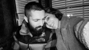 Ünlü çiftin romantik anları