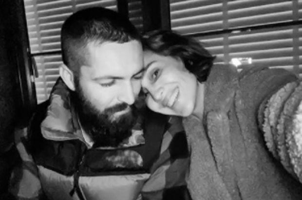 Ünlü çiftten aşk pozu