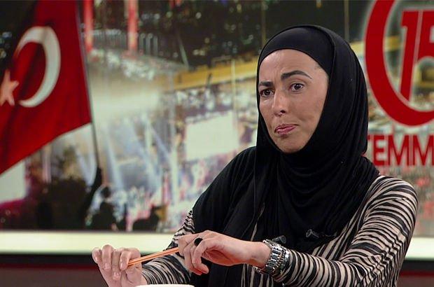 Nihal Olçok, şehit eşi Erol Olçok ve şehit oğlu Abdullah'ı Habertürk TV ekranlarda anlattı