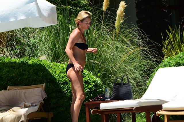 Kate Moss yeniden Bodrum'da, Kate Moss'un detoks tatili