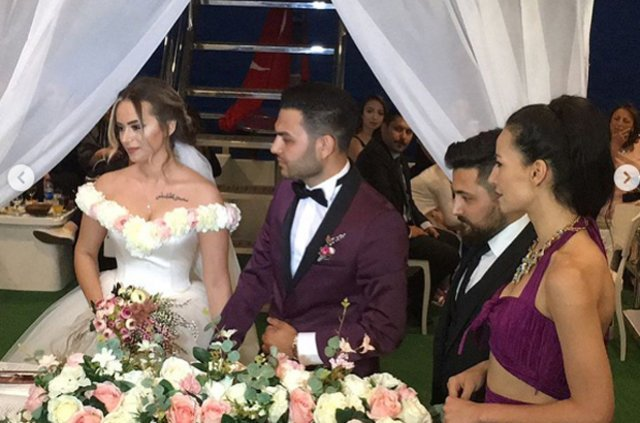 Dilara Yüzer ile Kaan Kılınç evlendi, Dilara Yüzer ilk aşkıyla evlendi