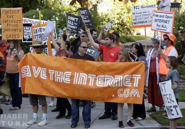 Teknoloji dünyası, Ağ Tarafsızlığı yasasına karşı birleşti