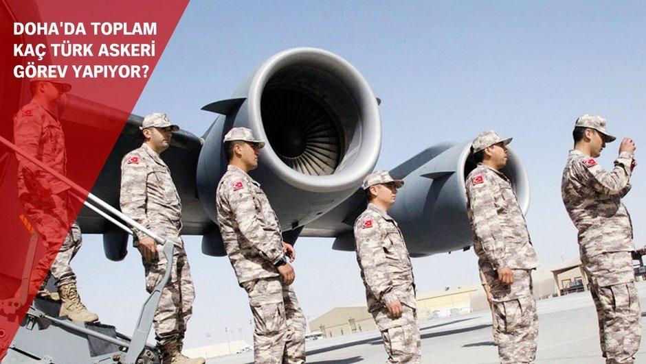 Suudi Arabistan Katar Türkiye asker sevkiyatı