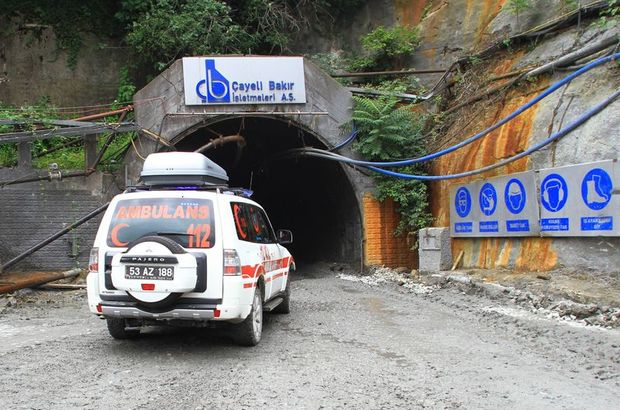Rize'de yerin 450 metre altında 'Yaşama Yol Ver' tatbikatı yapıldı