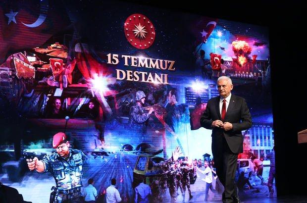 Başbakan Binali Yıldırım 15 Temmuz anma programında konuştu